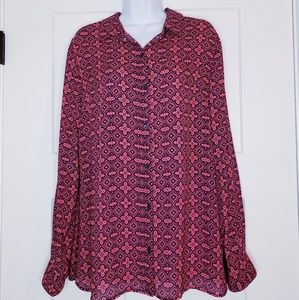 NWOT Banana Republic button down blouse